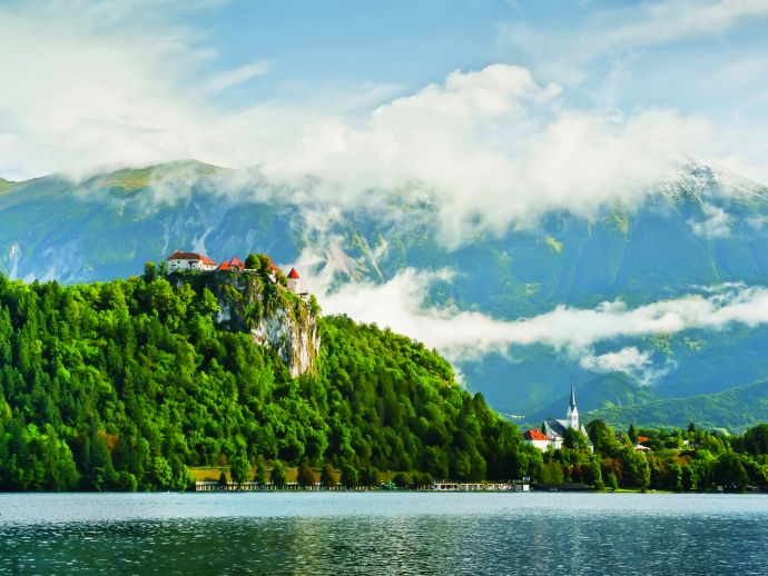 Bled with its environs is an exceptional example of how people used, through centuries, their environment in view of the natural and habitational conditions, and in relation to the development of their culture.